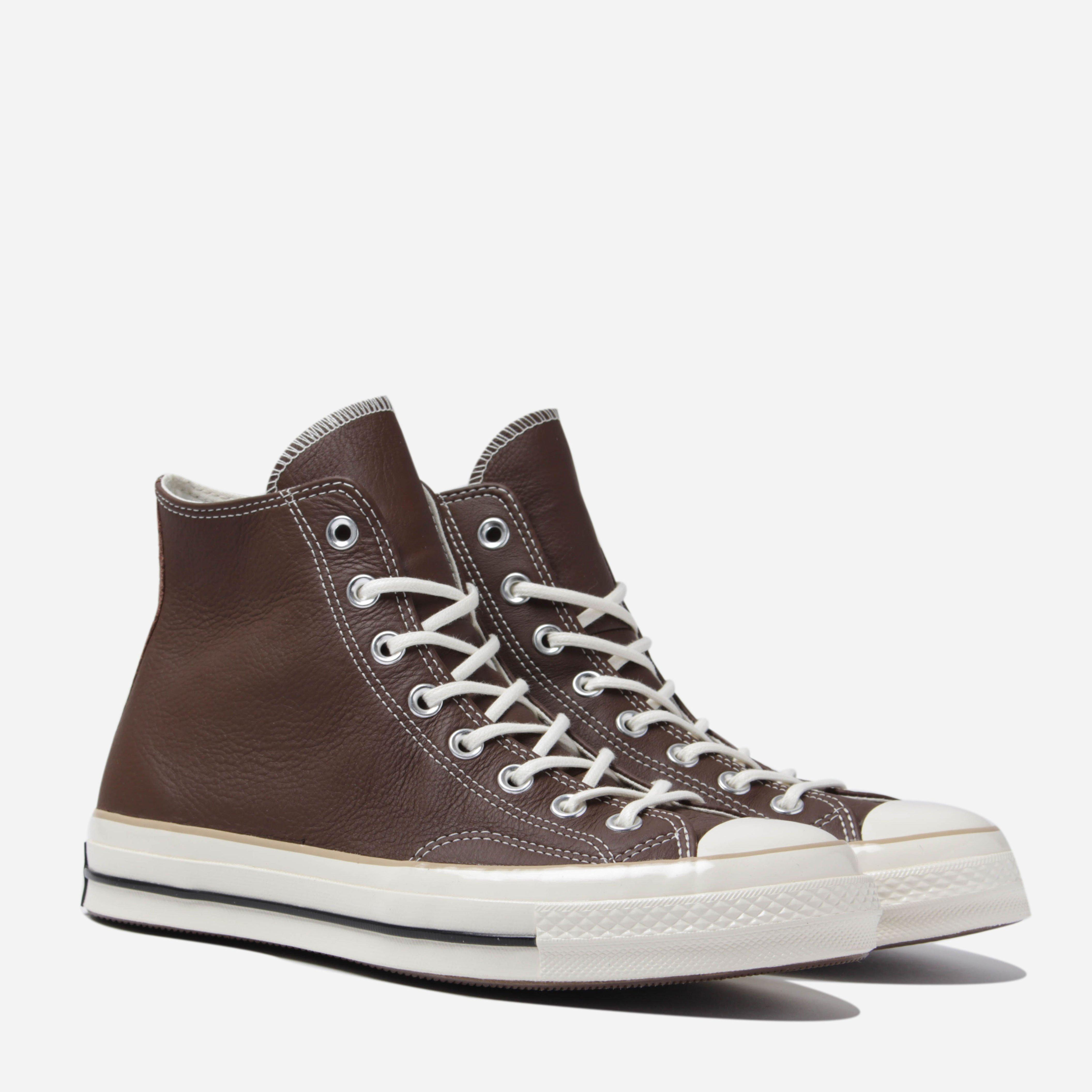 19bee5edabf9 Lyst - Converse Chuck Taylor All Star 70 Hi Leather in Brown for Men