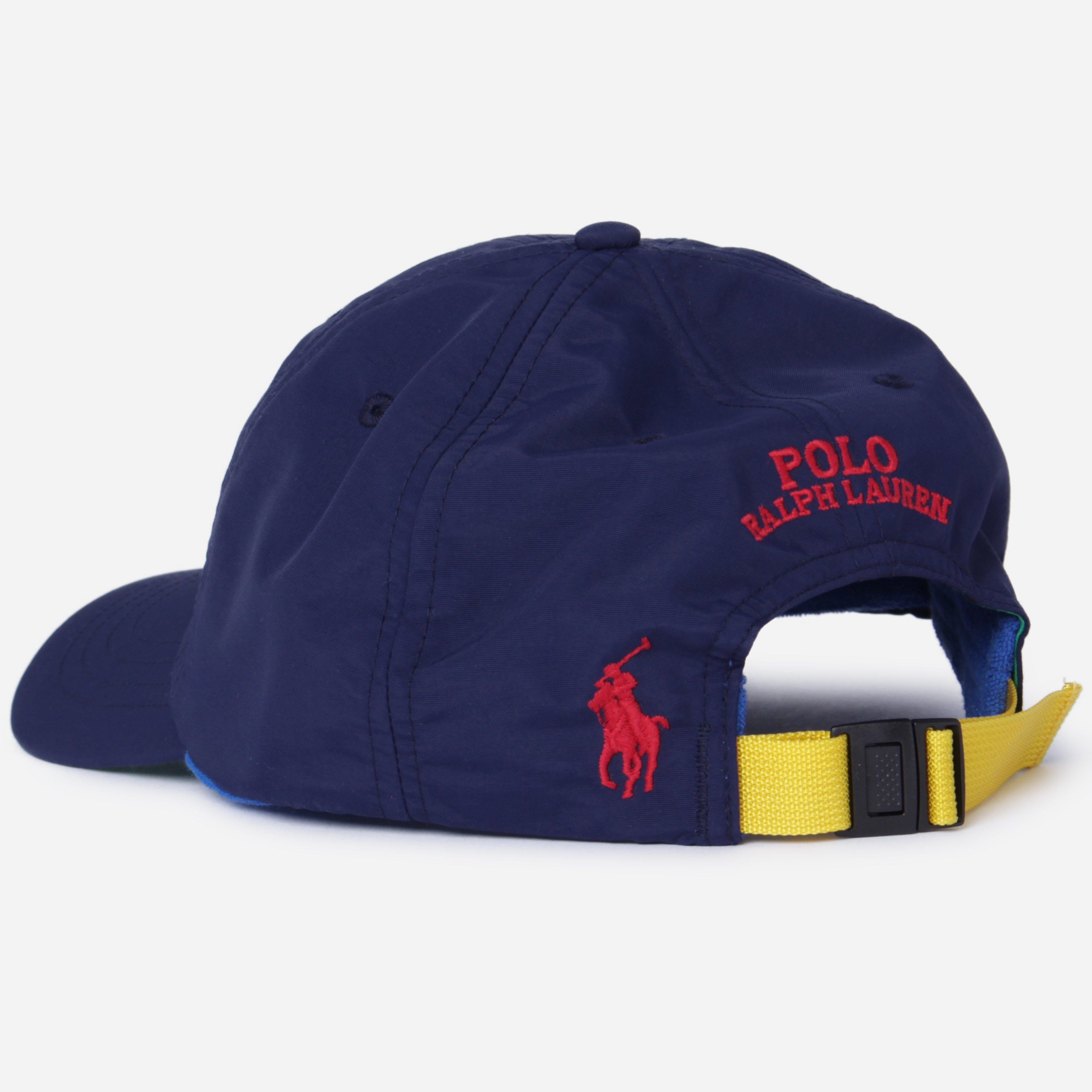 fd3c7fac0016e Polo Ralph Lauren - Blue Appliquéd Nylon Cap for Men - Lyst. View fullscreen