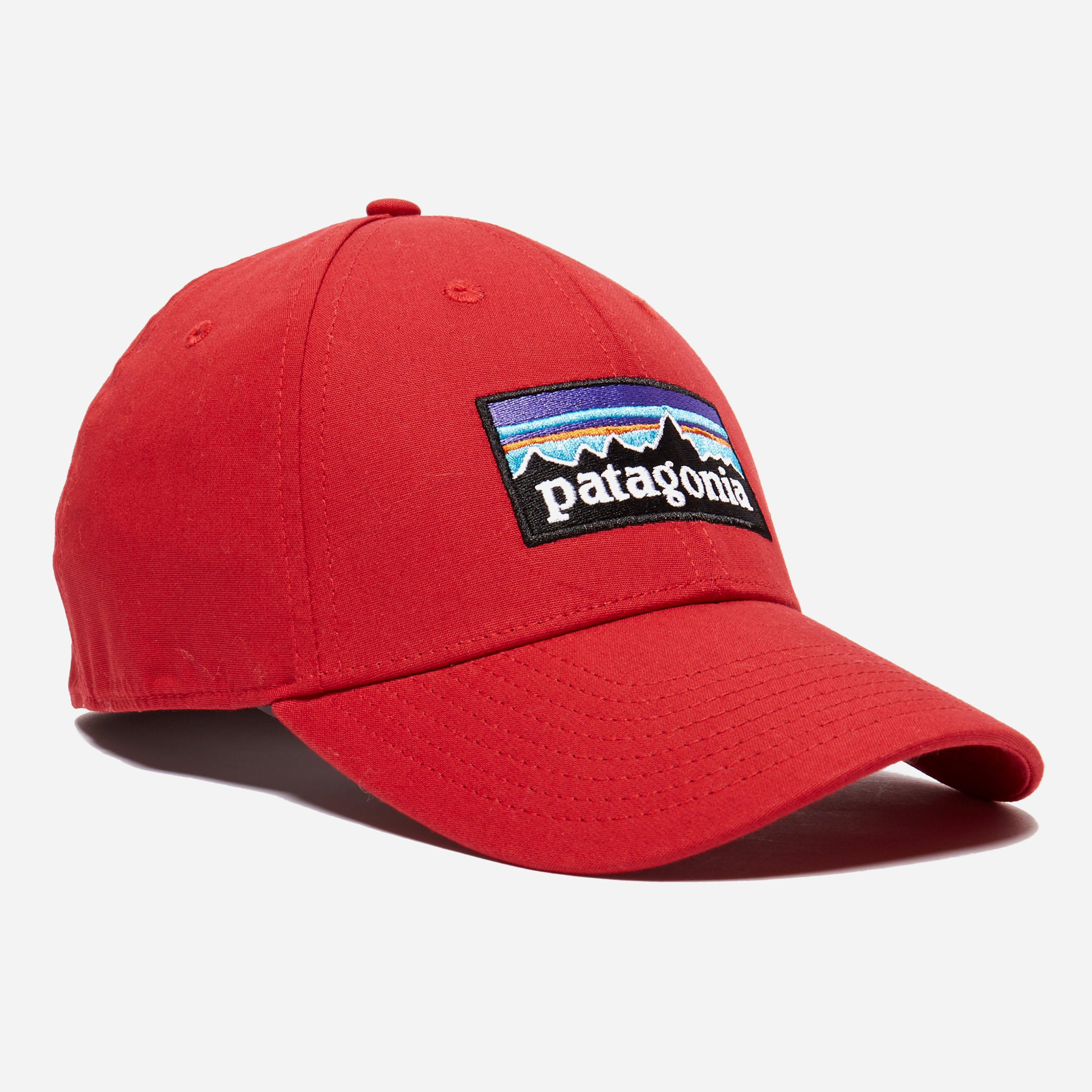 f77488fcb45 Lyst - Patagonia P-6 Logo Stretch Fit Hat in Red for Men
