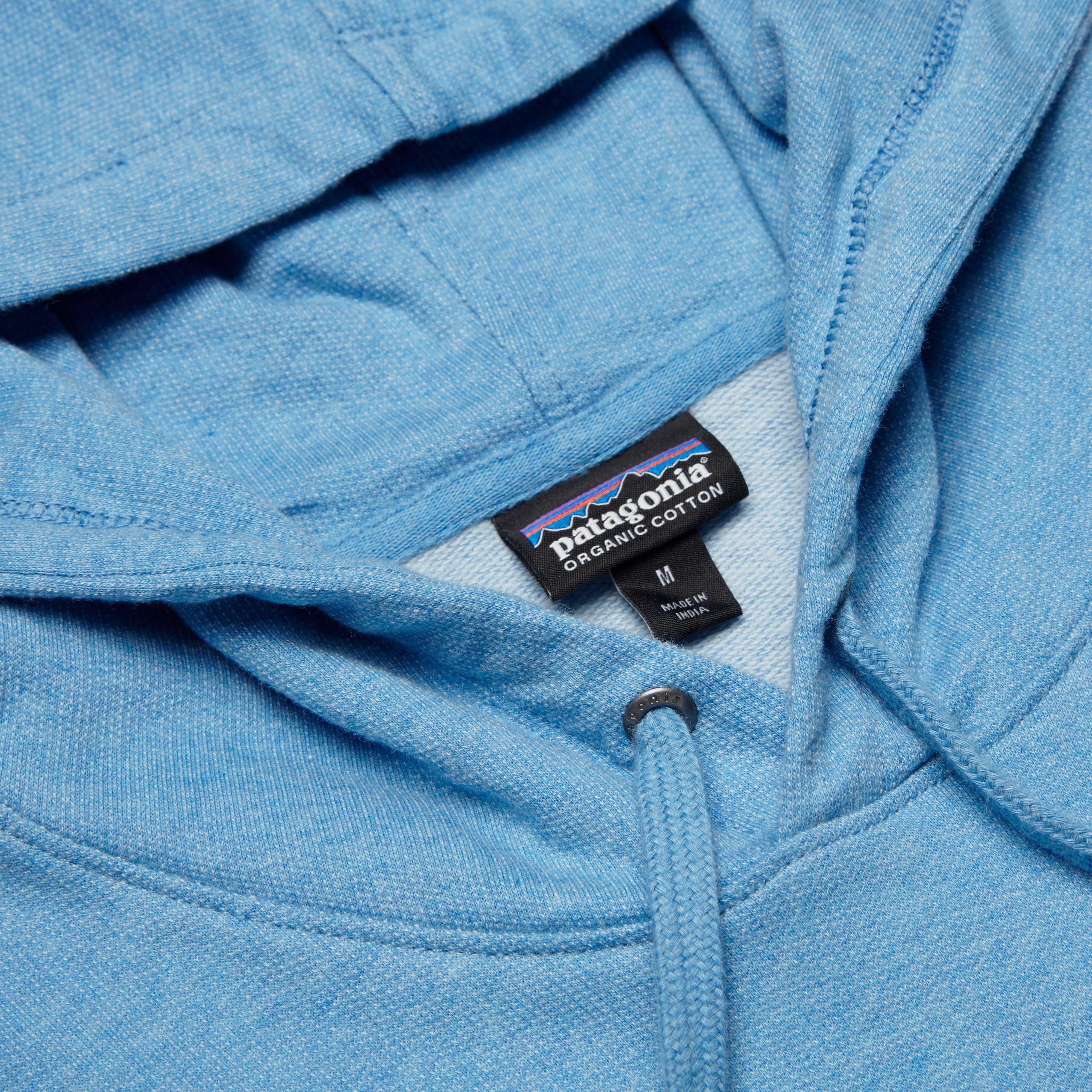 patagonia m 39 s line logo badge lw hoody in blue for men lyst. Black Bedroom Furniture Sets. Home Design Ideas