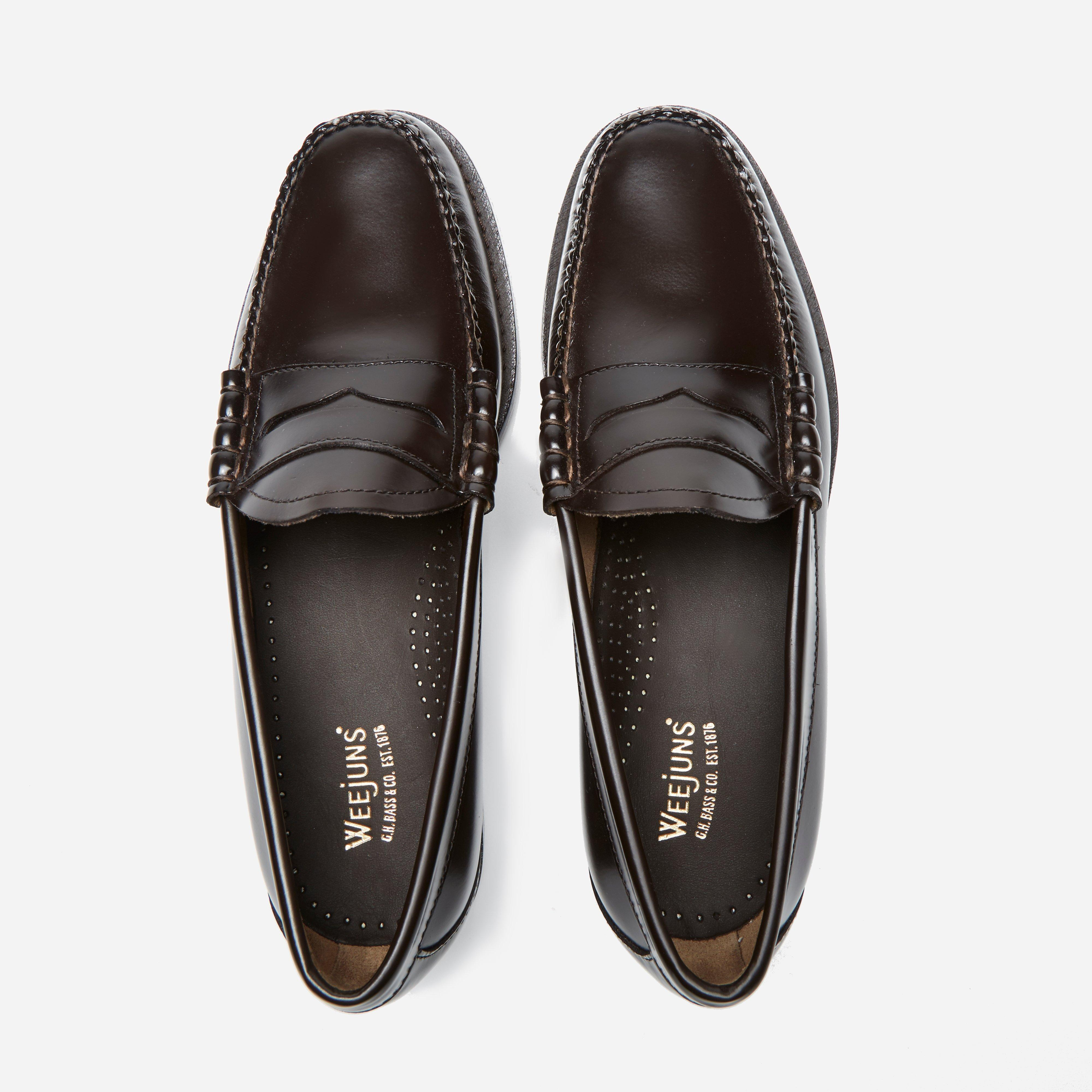 G.H.BASS Bass Weejun Larson Penny Loafer in Black for Men ...