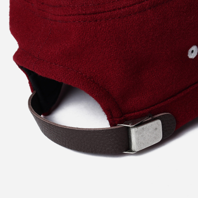 bd038fb97fd Universal Works Field Melton Cap in Red for Men - Lyst