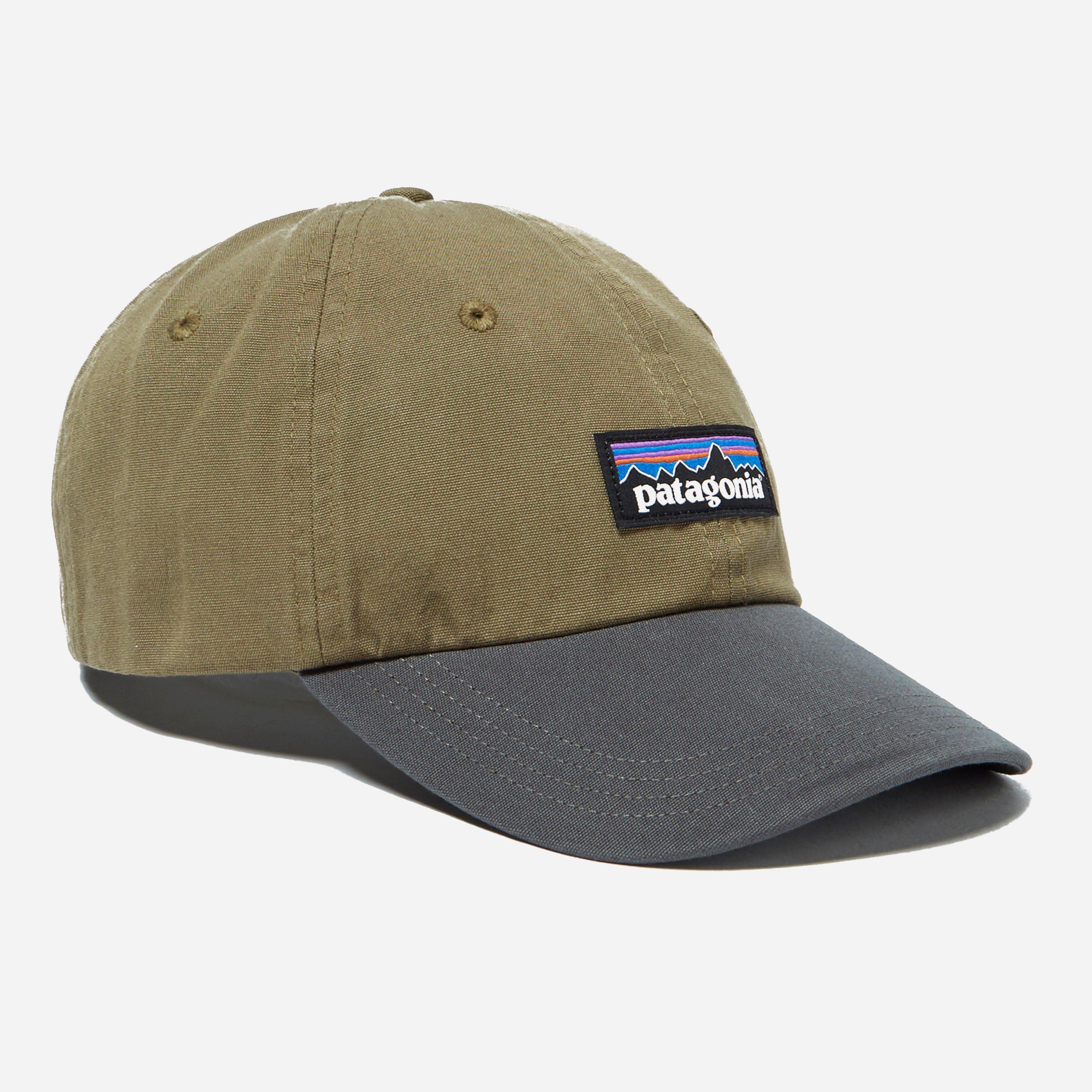 fcecb855cfc Patagonia P6 Label Trad Cap in Green for Men - Lyst