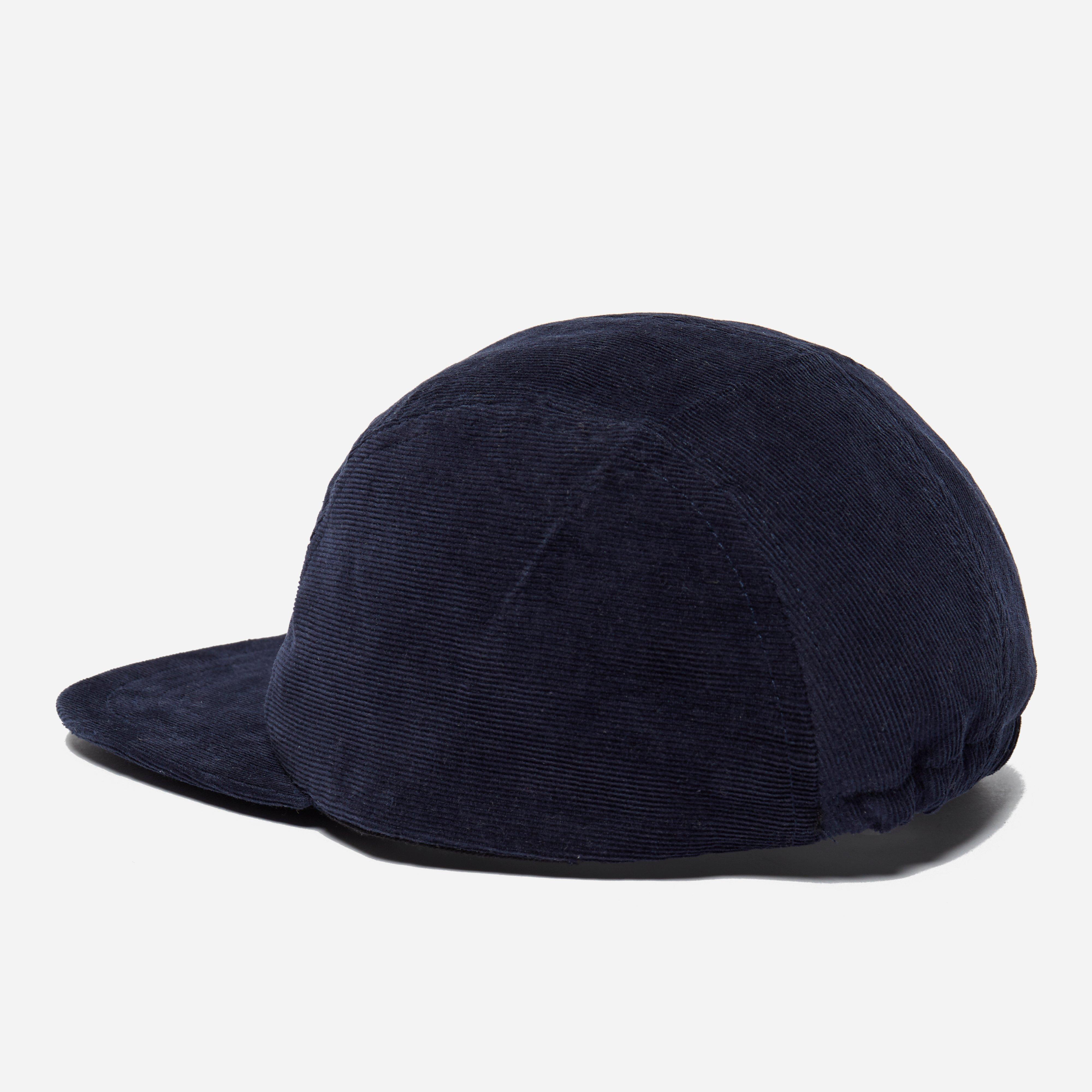 7e68c300b6c Lyst - Les Basics Le Peak Corduroy Cap in Blue for Men
