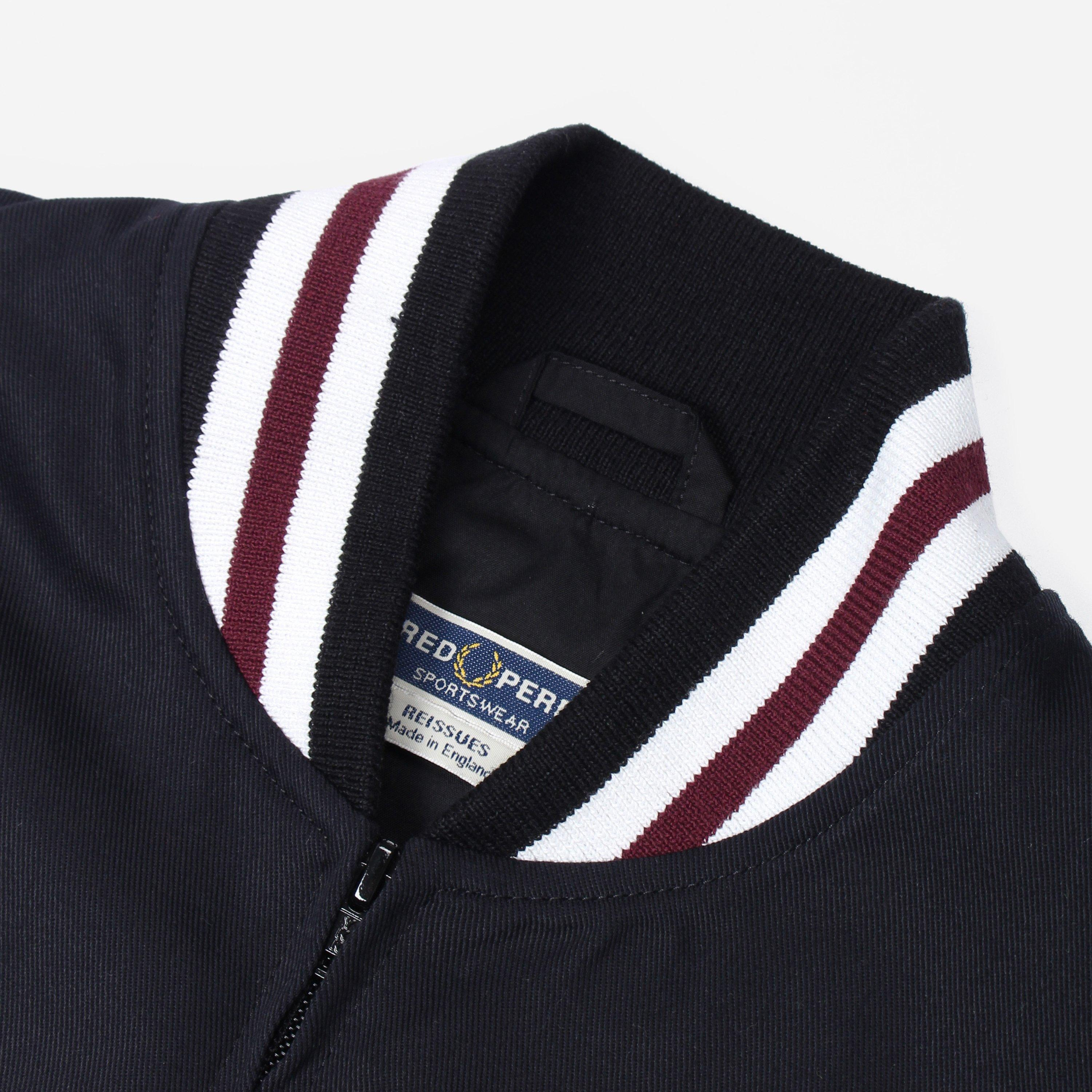 a24dca305 Fred Perry Reissues Made In England Tennis Bomber in Black for Men ...