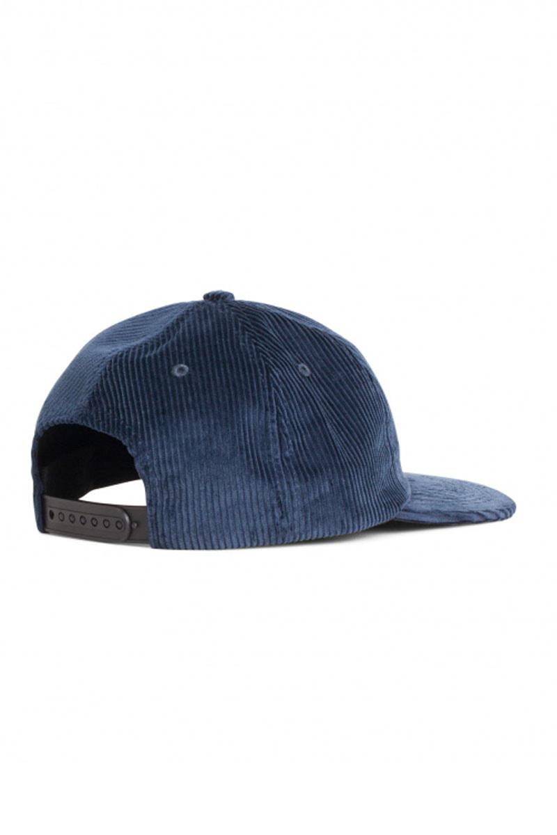 a9e6a406a48 Norse Projects Norse 6 Panel Corduroy Cap Petrol Blue in Blue for ...