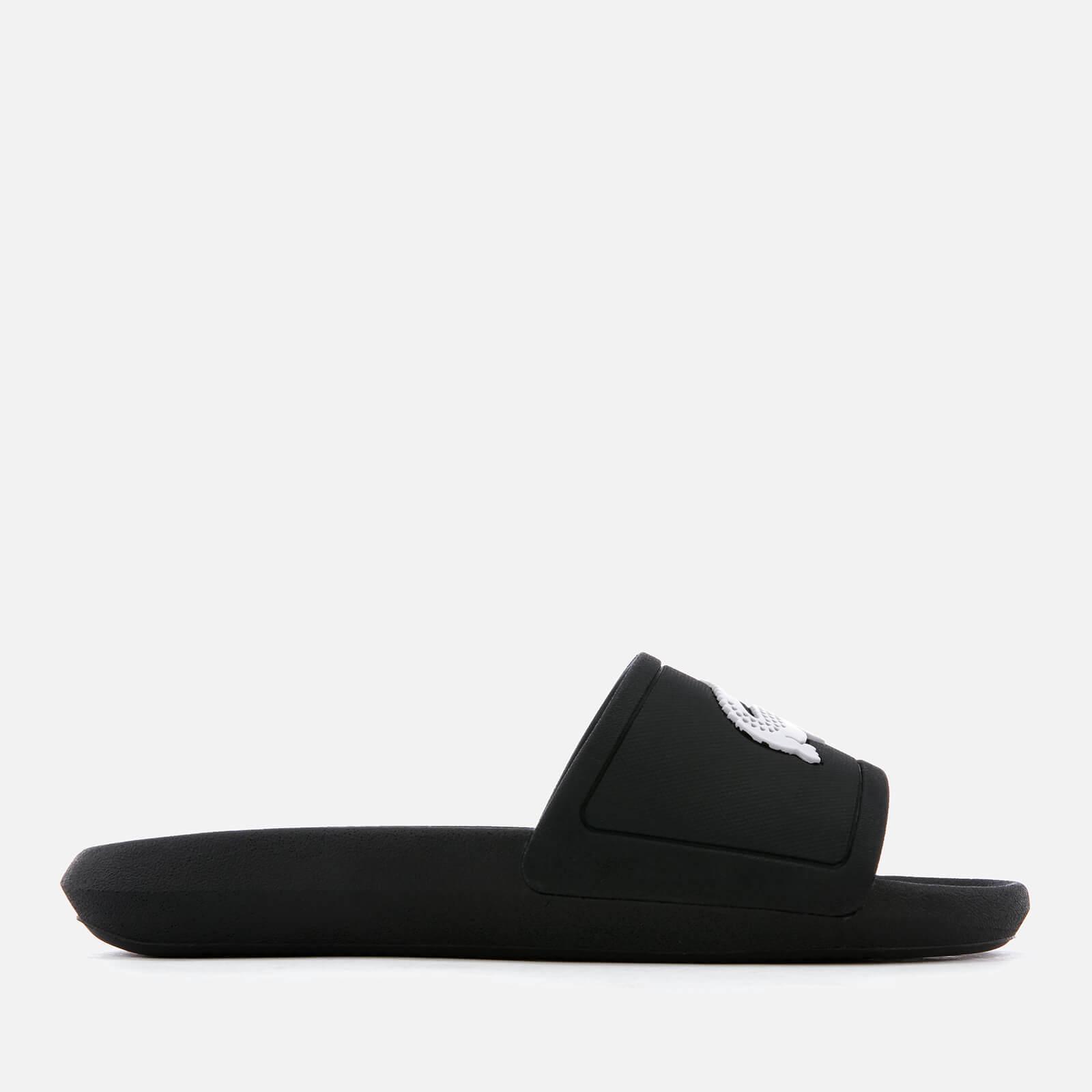 82ba8e96d Lacoste - Black Croco Slide 119 3 Sandals - Lyst. View fullscreen