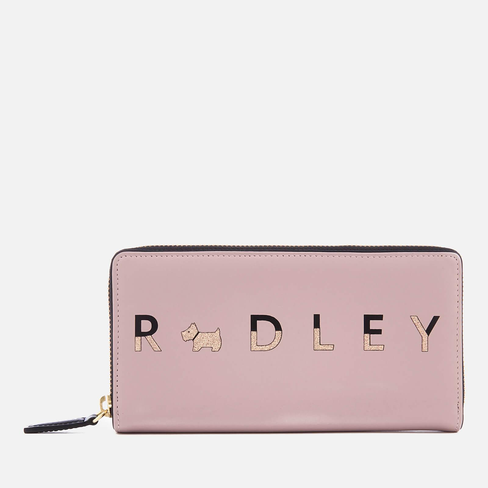 Lyst - Radley All That Glitters Large Zip Around Matinee Purse in Pink