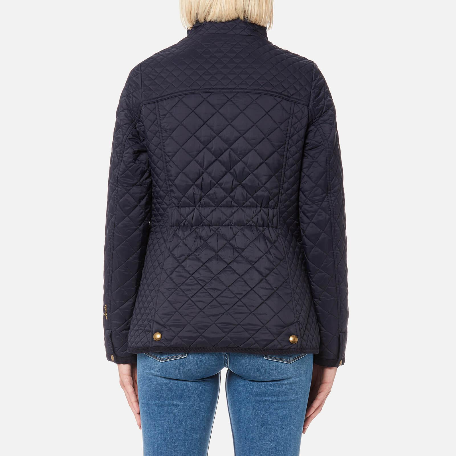 a27085fdbb6e Joules - Blue Newdale Quilted Coat - Lyst. View fullscreen