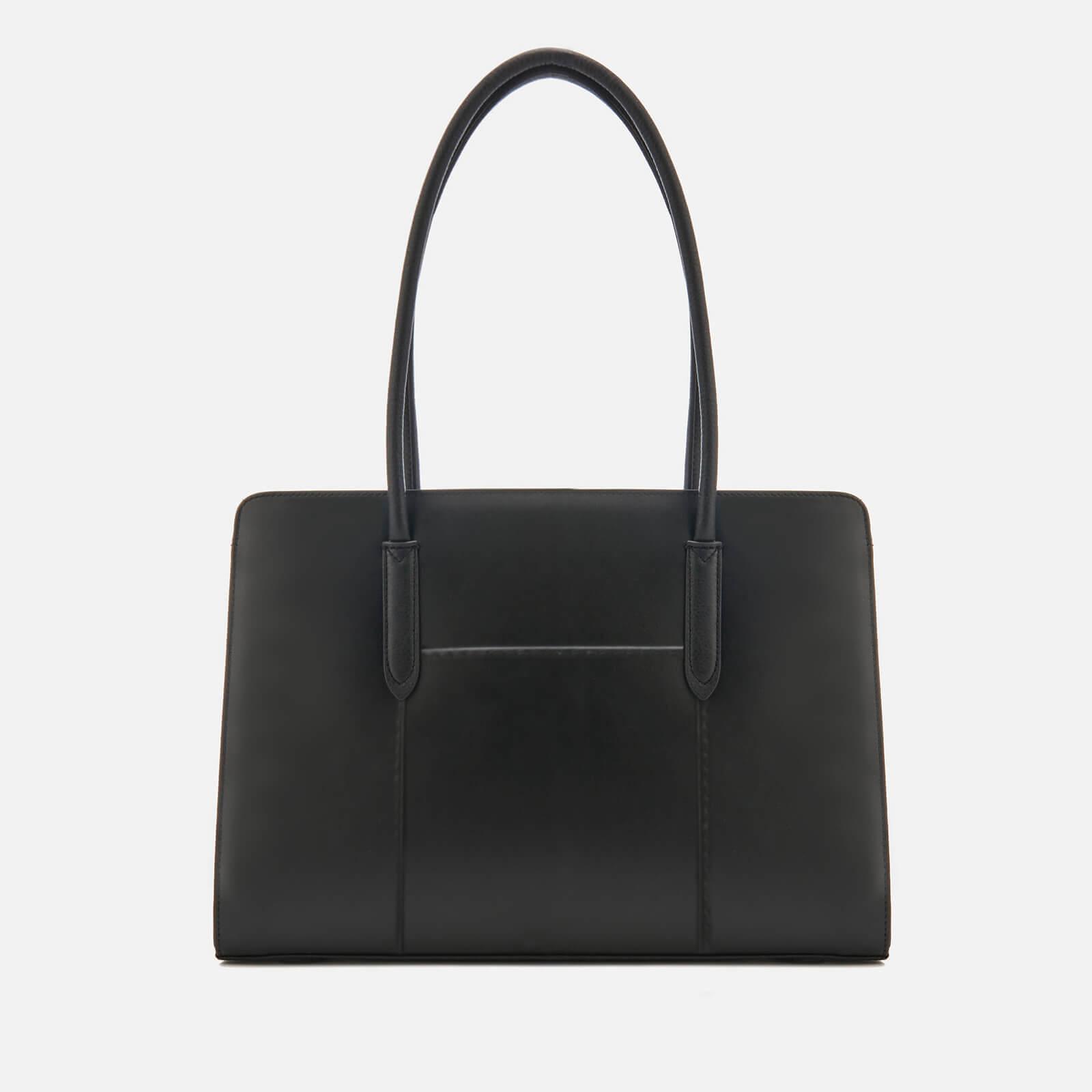 5934ffbae347 Lyst - Radley Liverpool Street Stud Large Workbag Tote Bag in Black