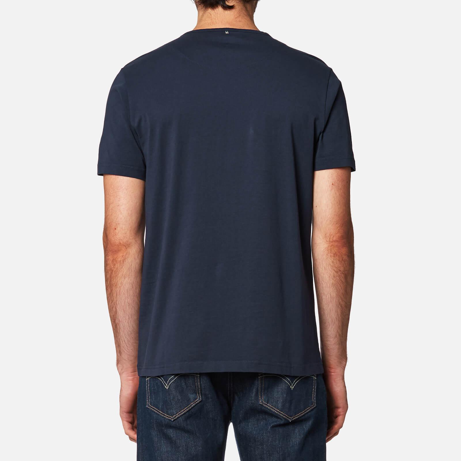 f820b6840ff Pretty Green - Blue Thornley Paisley Logo T-shirt for Men - Lyst. View  fullscreen