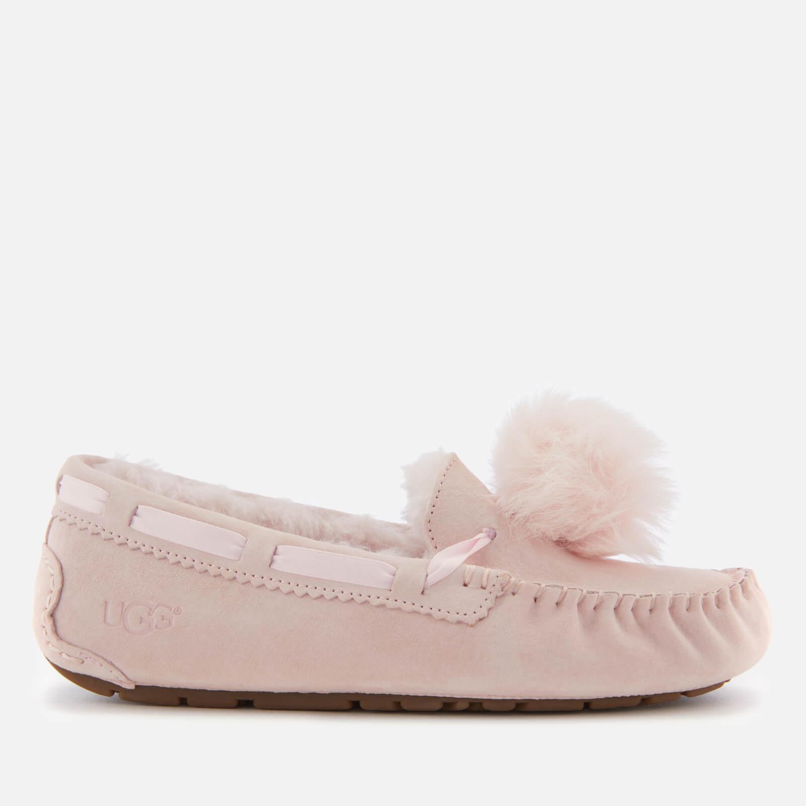 2d4da2624aa Ugg Dakota Moccasin Suede Slippers in Pink - Lyst