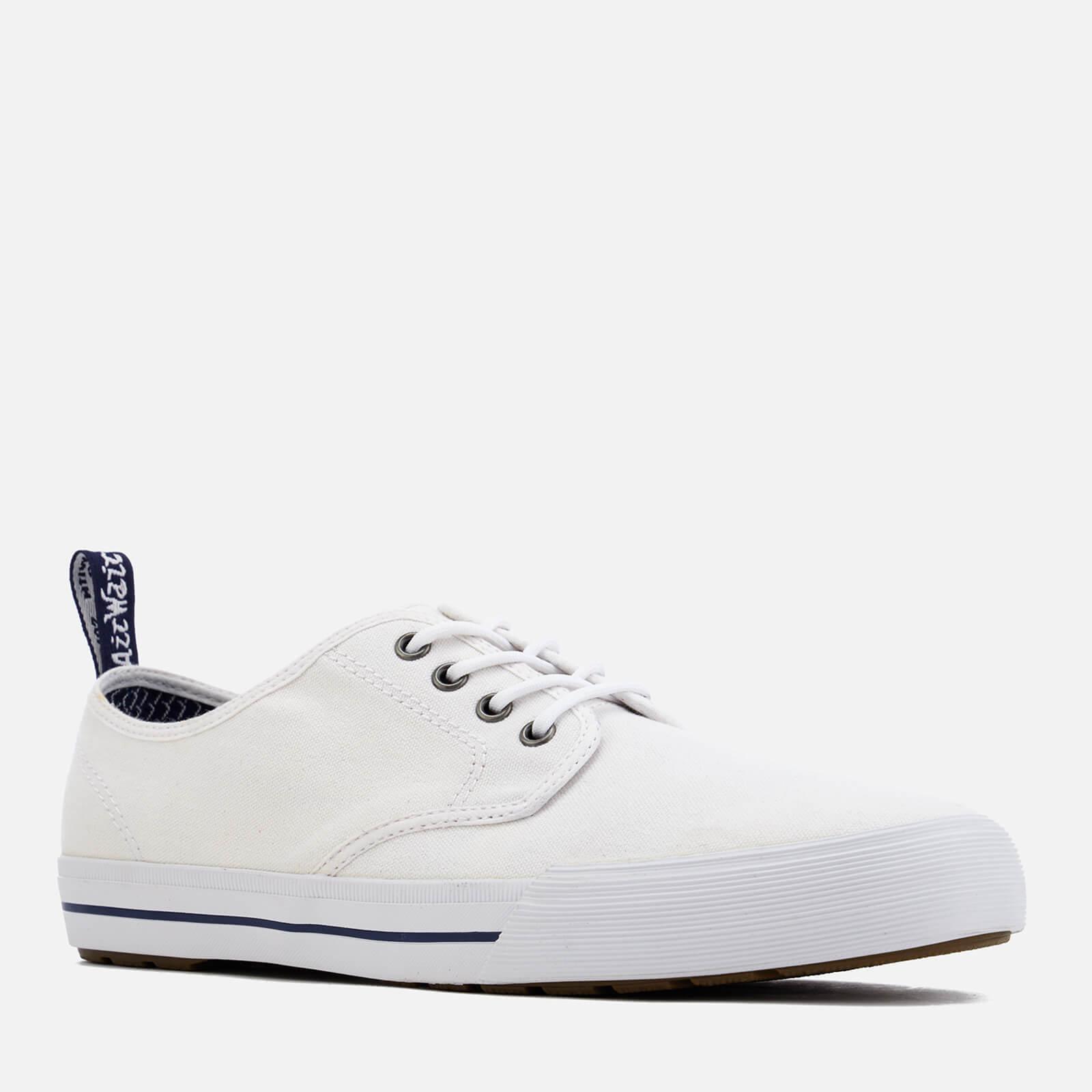 eb4fee17 Dr. Martens - White Pressler Canvas Lace Shoes for Men - Lyst. View  fullscreen