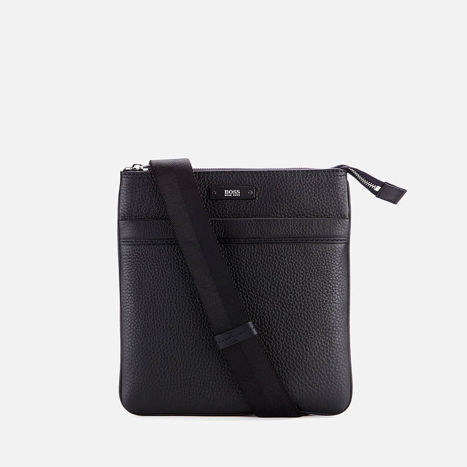 960ef449fc BOSS - Black Traveller Zip Cross Body Bag for Men - Lyst. View fullscreen