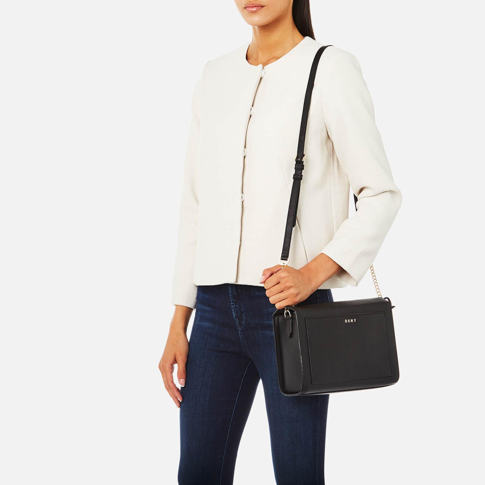 a902cfb202f1 Lyst - DKNY Bryant Park Medium Box Cross Body Bag