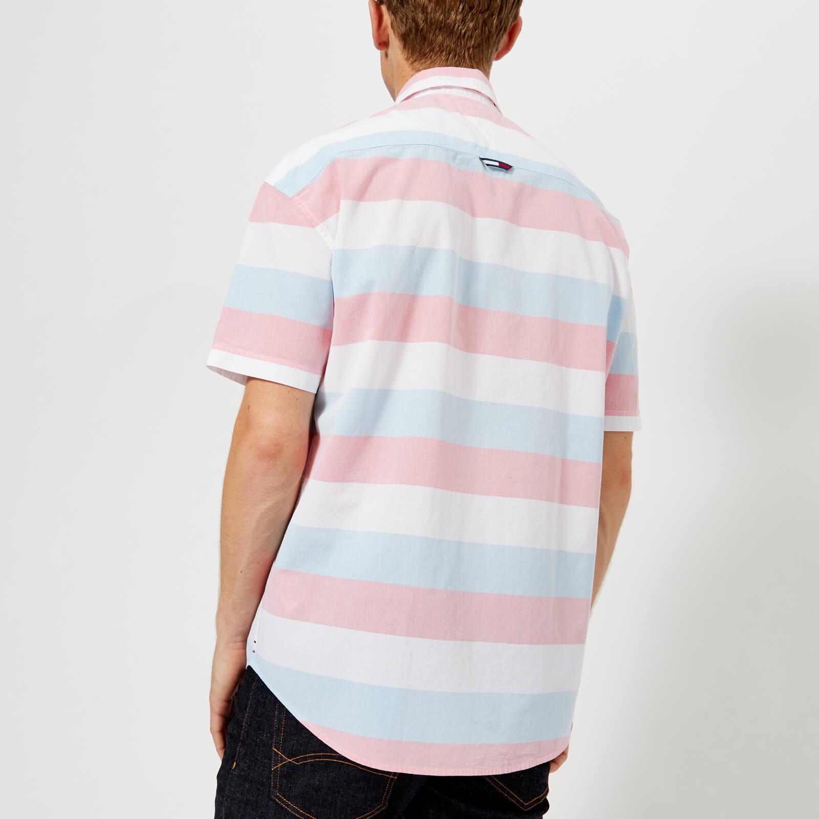 d56c52976a27 Lyst - Tommy Hilfiger Summer Stripe Short Sleeve Shirt for Men