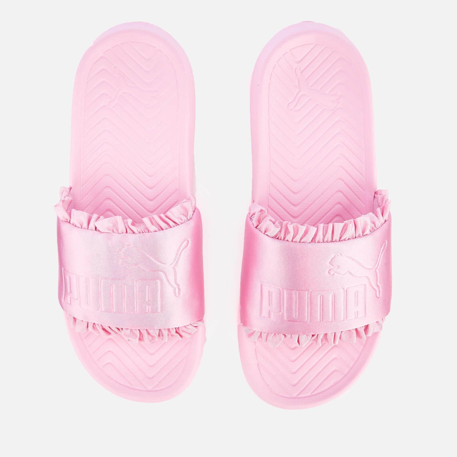 9c03f277380d Lyst - PUMA Popcat Silk Slide Sandals in Pink