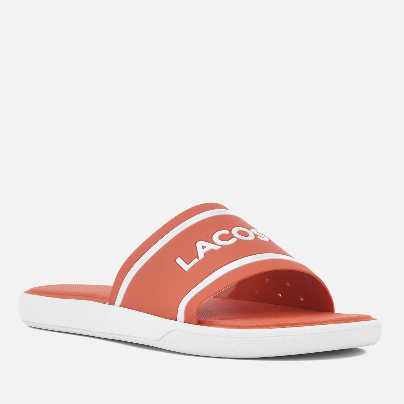 924853bcee6f7 Lacoste - Pink L.30 118 1 Slide Sandals - Lyst. View fullscreen