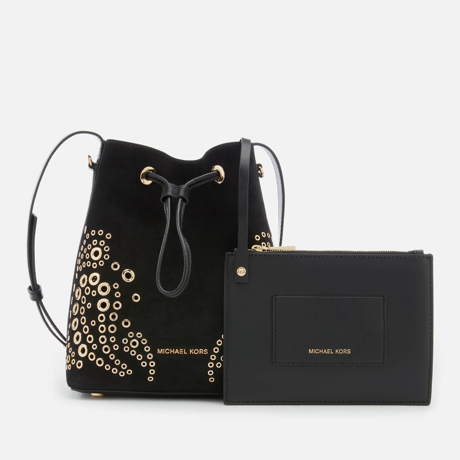 d9384430c552 Lyst - MICHAEL Michael Kors Cary Small Bucket Bag With Paisely ...