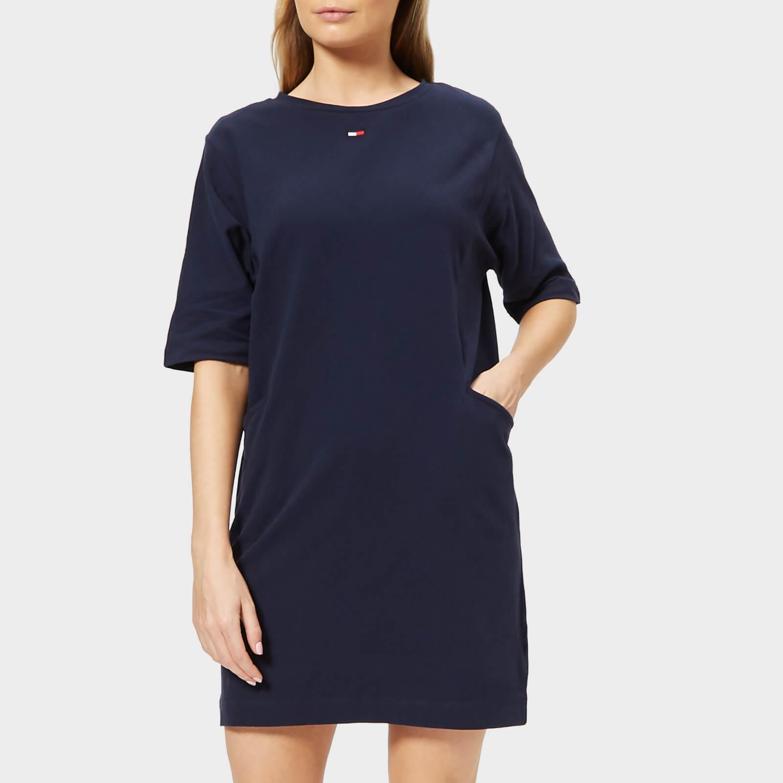 Tommy Hilfiger Heavyweight Knitted Dress in Blue - Lyst 8846648cd75