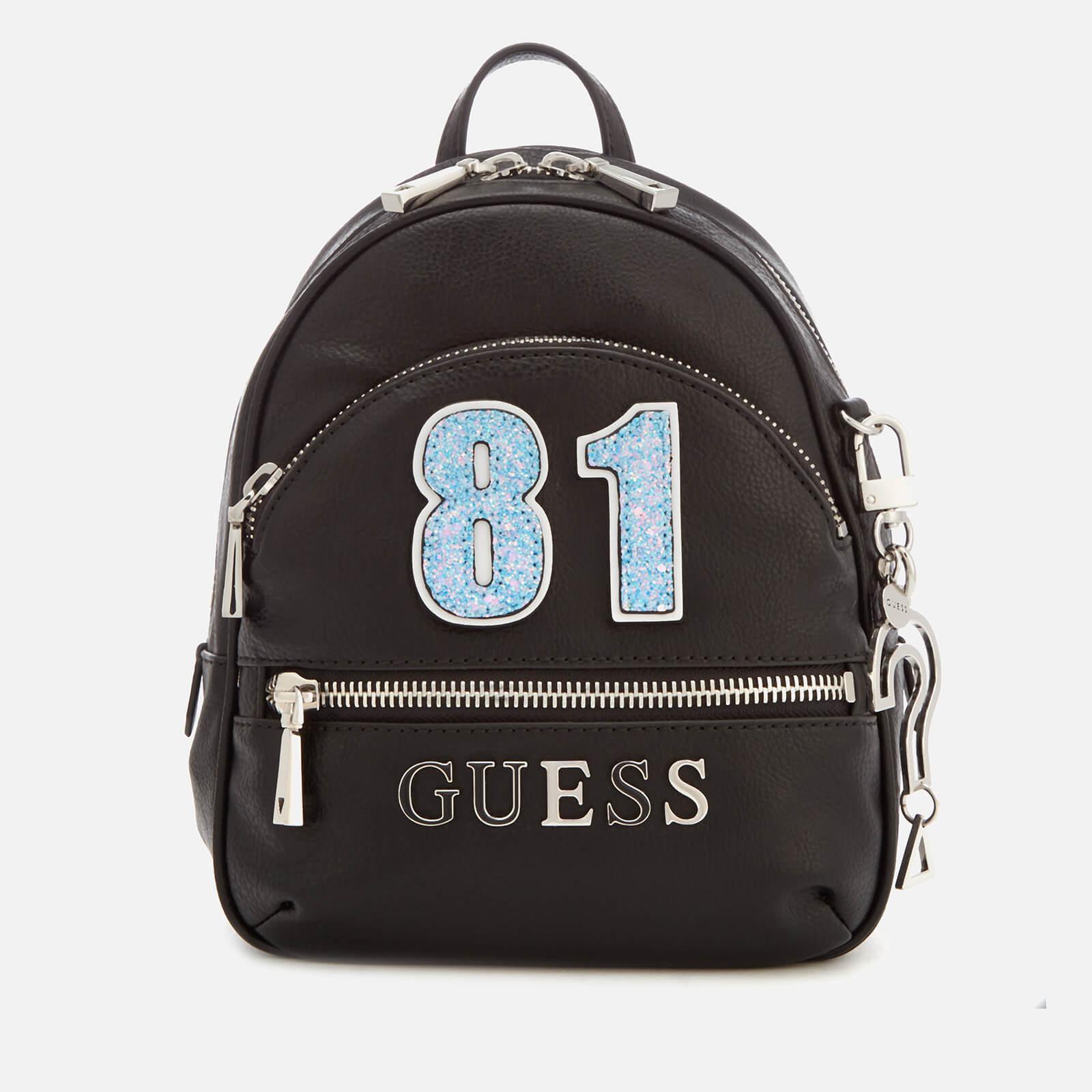 a878d4664a2d Guess - Black Manhattan Small Backpack - Lyst. View fullscreen