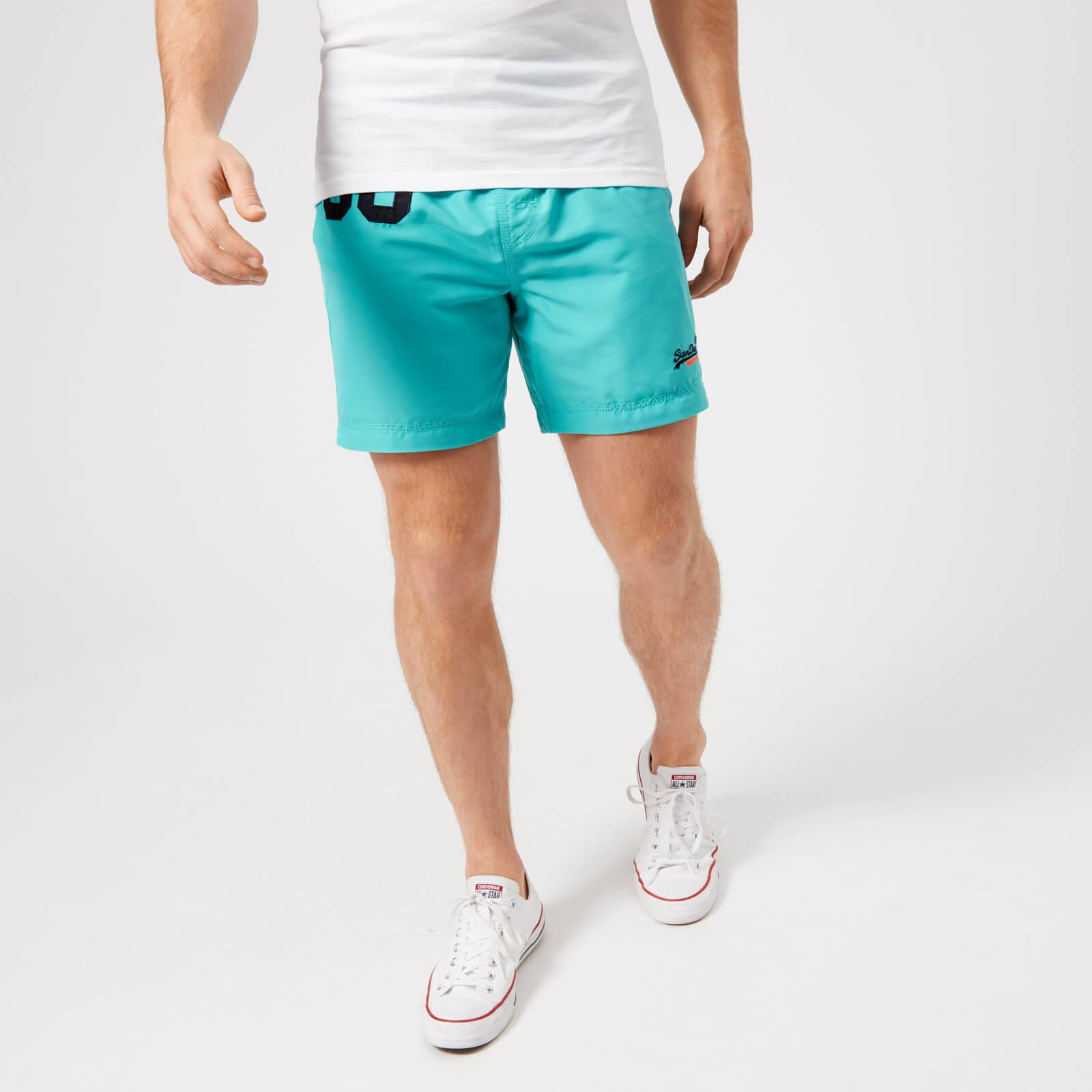 dca44f3950 Lyst - Superdry Water Polo Swim Shorts in Blue for Men