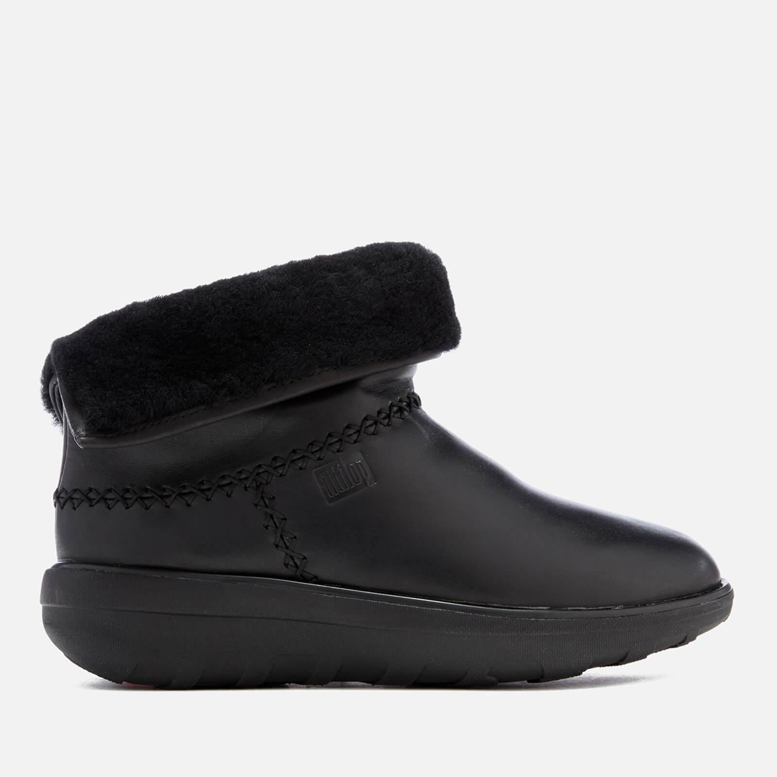 9248b04453890e Fitflop Mukluk Leather Shorty 2 Boots in Black - Lyst
