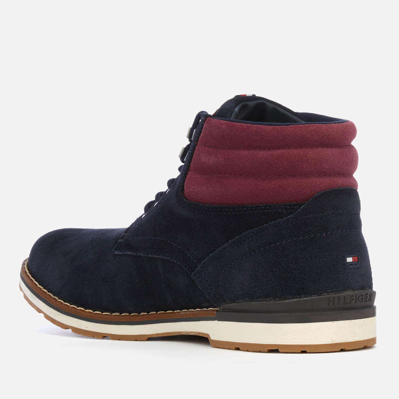 ed6fd8bc135ef5 Tommy Hilfiger - Blue Outdoor Suede Boots for Men - Lyst. View fullscreen