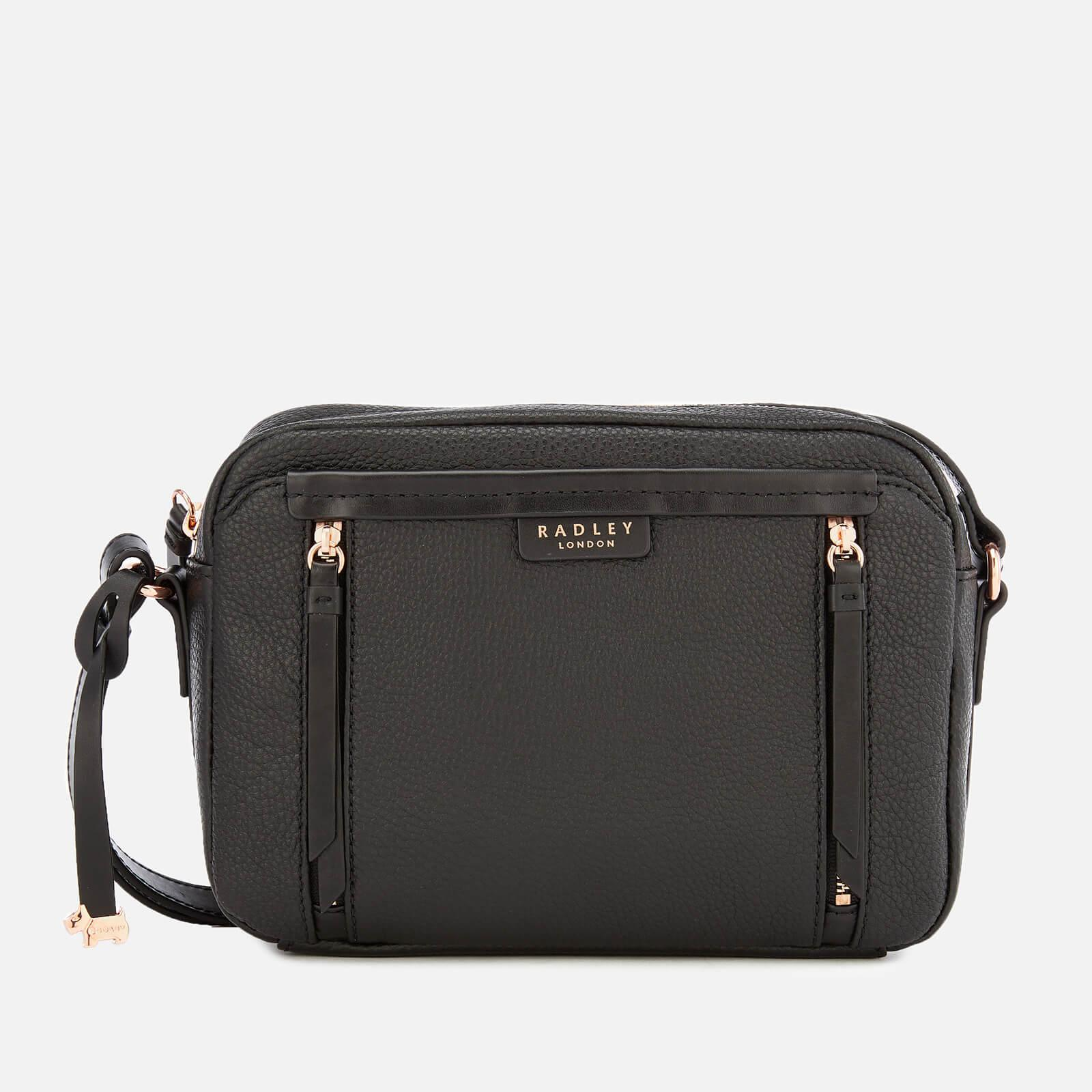 Radley Penhurst Zip Medium Cross Body Zip Top Bag in Black - Lyst ec397e97dd822