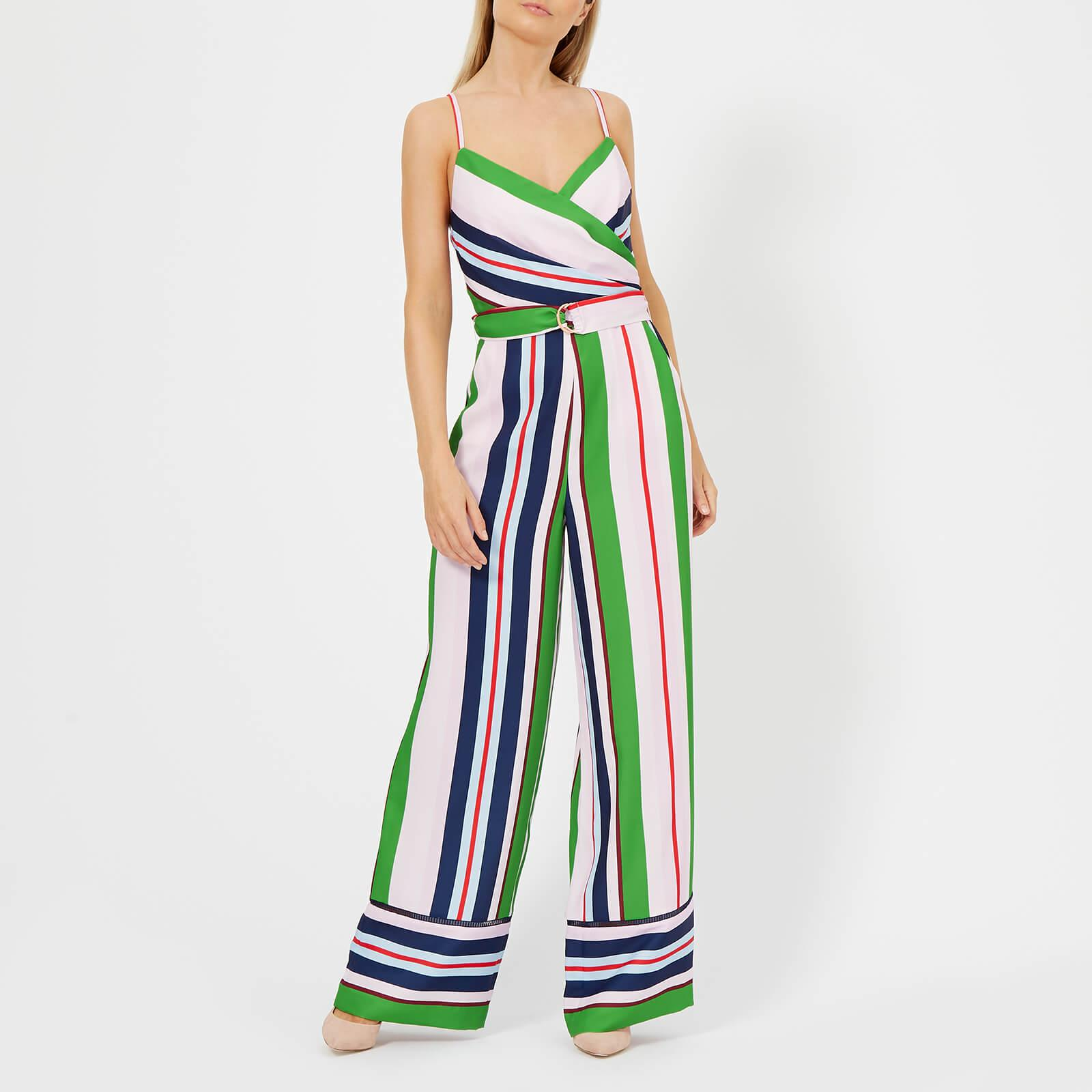 93f42c9bfa3 Lyst - Ted Baker Canpala Bay Of Honour Jumpsuit in Pink
