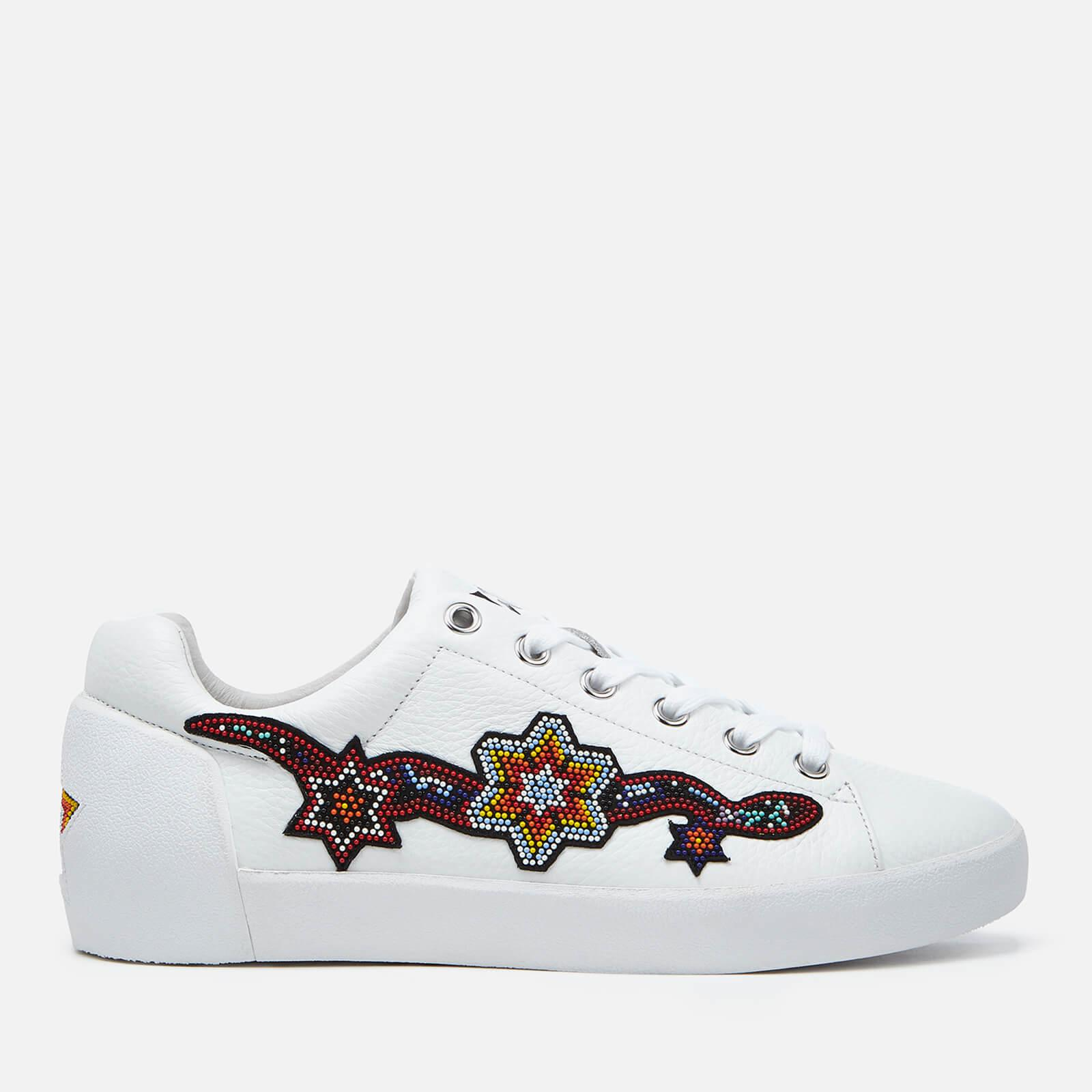 Ash Women's Namaste Tumble Leather Low Top Trainers Sneakernews Cheap Online Best Place Online Latest Discount Low Shipping Online Cheap 6pAF2zOi