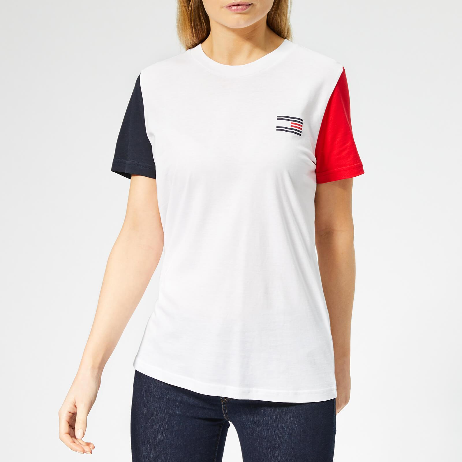 c5c83e05 Tommy Hilfiger Talita Oversized T-shirt in White - Lyst