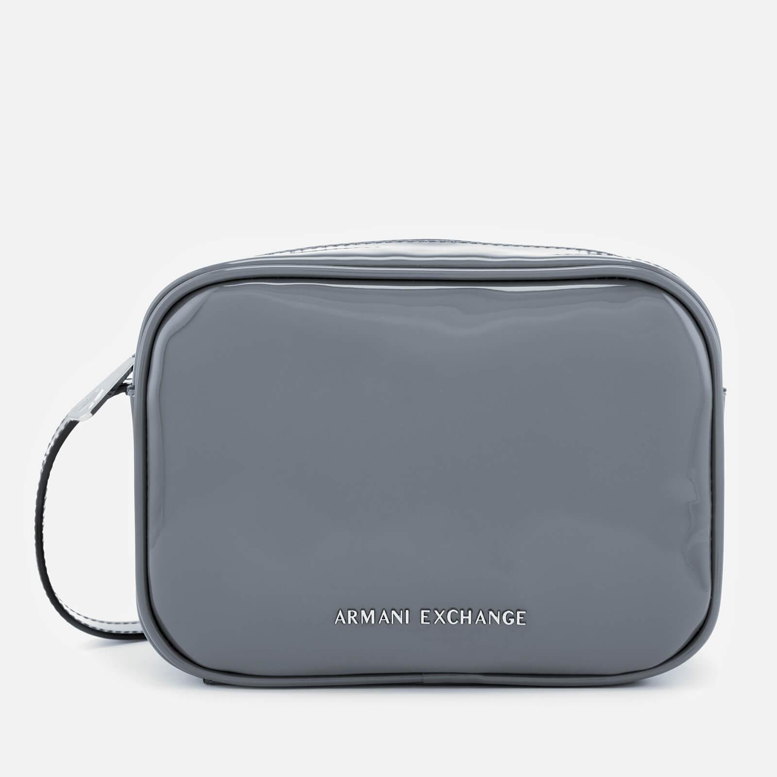 Armani Exchange - Multicolor Patent Logo Cross Body Bag - Lyst. View  fullscreen 7c74f252d0