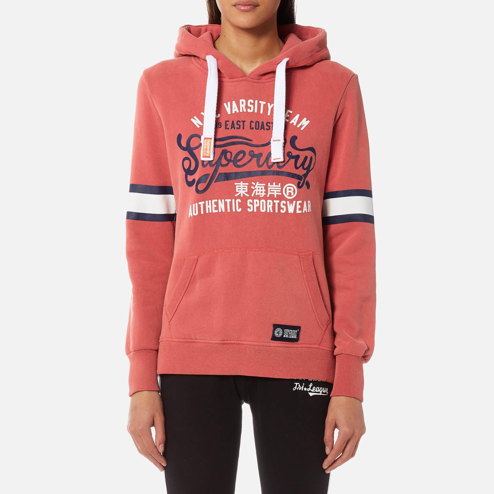 Superdry Varsity Team Entry Hooded Sweatshirt in Red - Lyst 4a4878362358