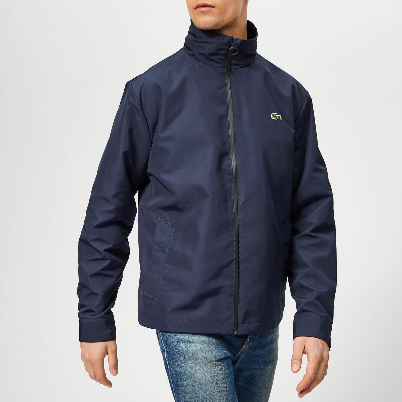 8cf6511892e Lyst - Lacoste Classic Blouson Jacket in Blue for Men