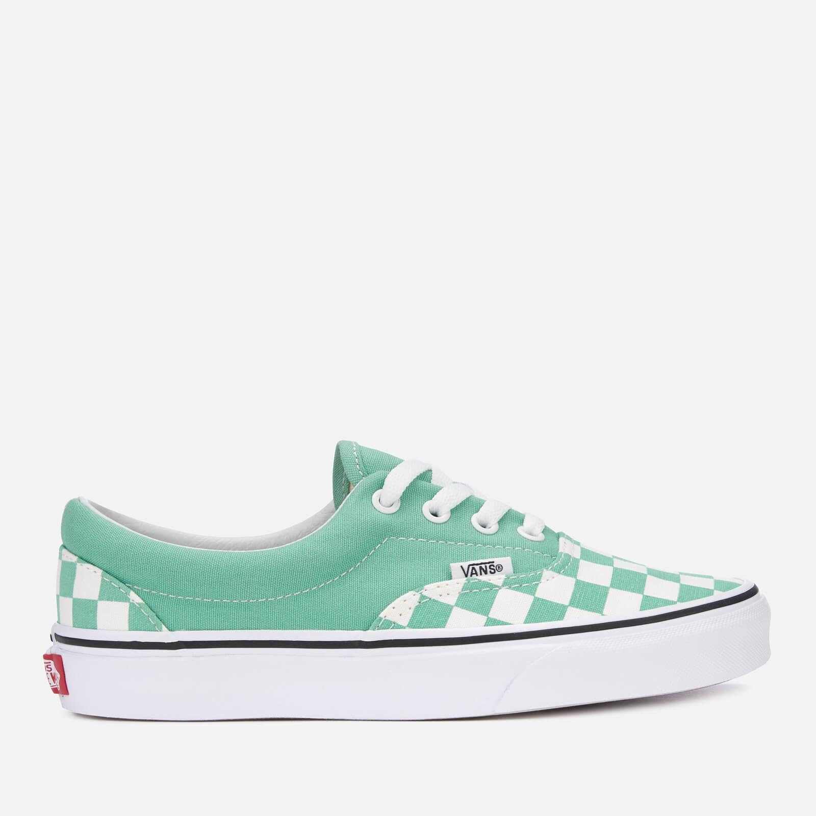 Vans Checkerboard Era Trainers in Green - Lyst 7d7e54a99