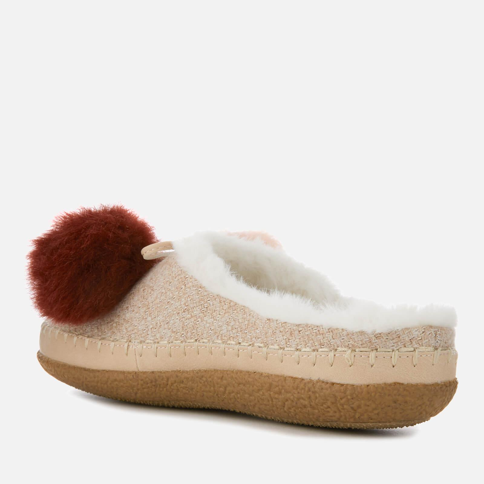 1eed89025ef TOMS - Pink Ivy Multicolour Pom Pom Slippers - Lyst. View fullscreen
