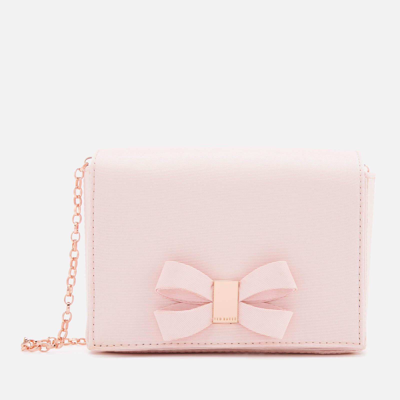 2b8f253411 Ted Baker Stacyy Looped Bow Evening Bag in Pink - Lyst