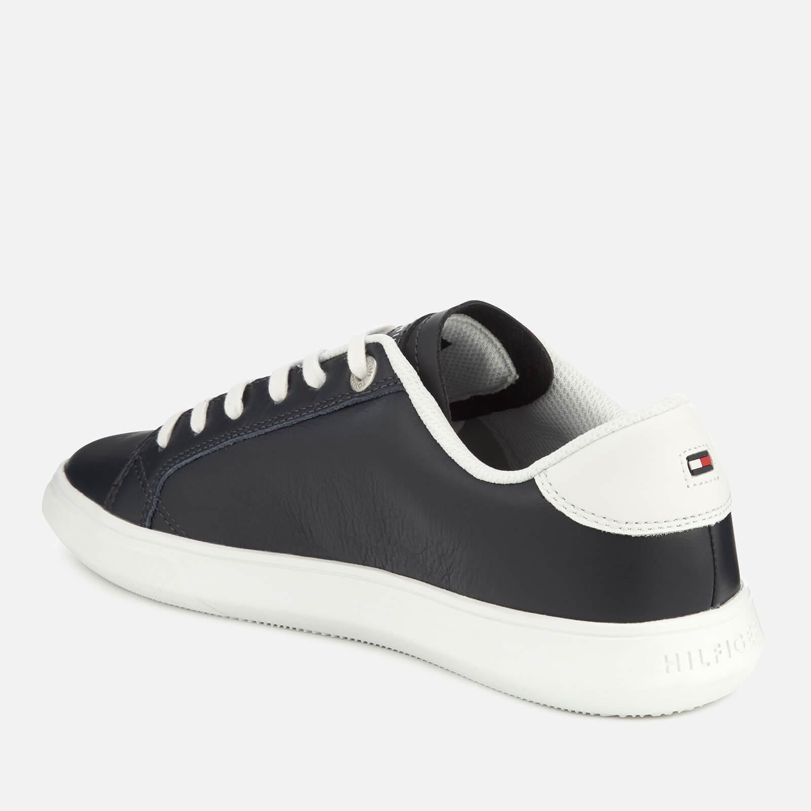 4e0c0b1f9264 Tommy Hilfiger Essential Leather Cupsole Trainers in Blue for Men ...