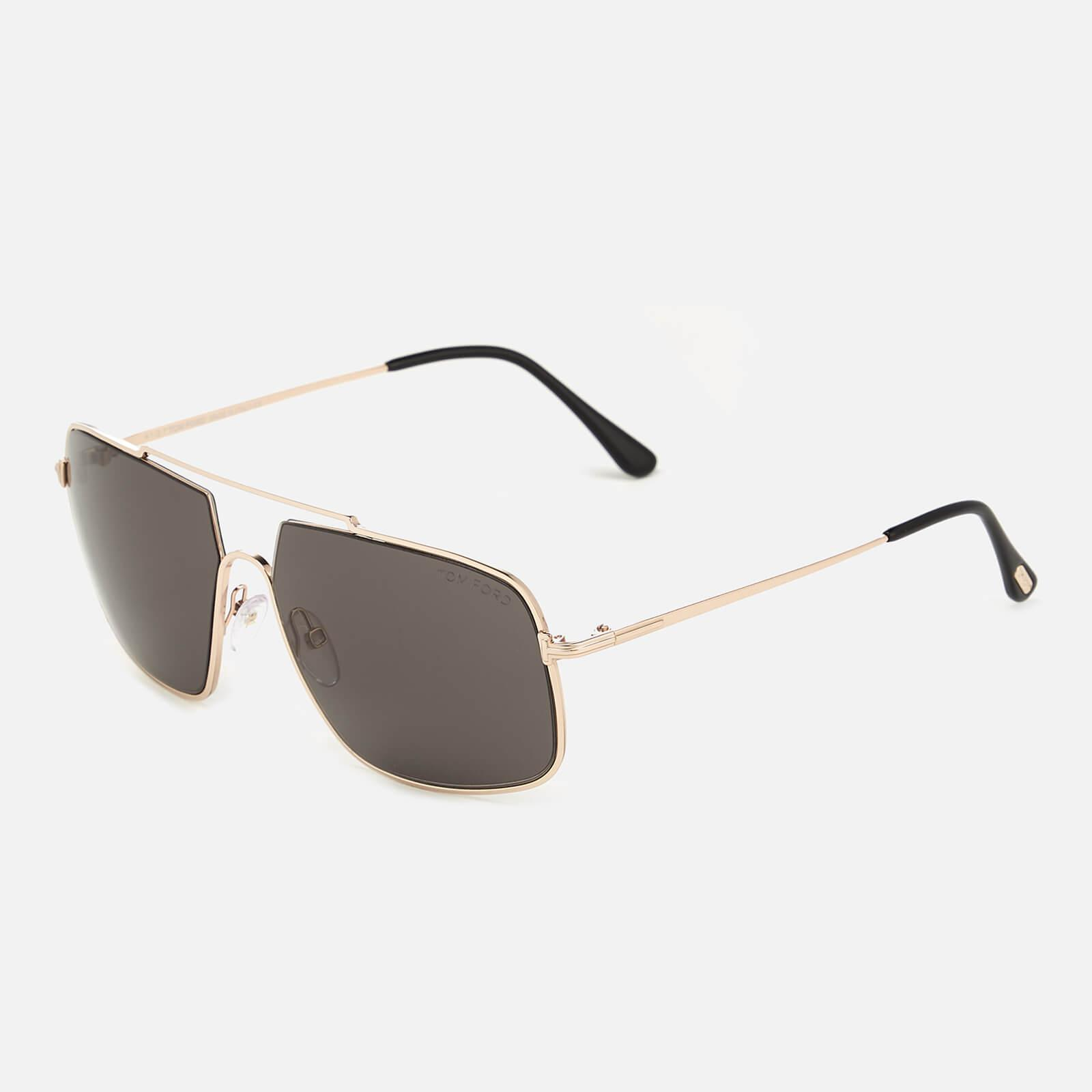 e4cf9136af5 Tom Ford - Multicolor Aiden Aviator Style Sunglasses for Men - Lyst. View  fullscreen