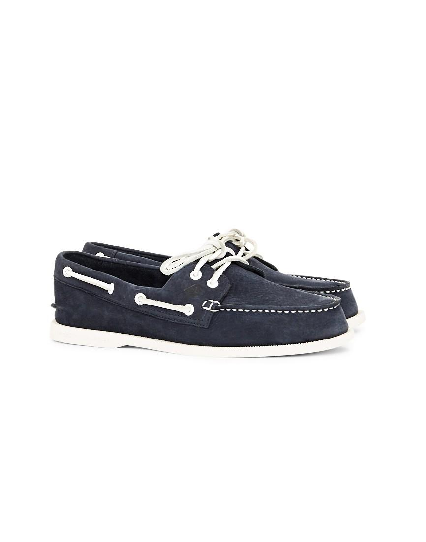 Sperry top-sider Top-sider Washable Leather Boat Shoe Navy ...