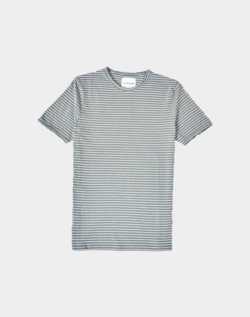 09e29d879b1e9 Lyst - The Idle Man Slim Fit Striped Tshirt Green for Men