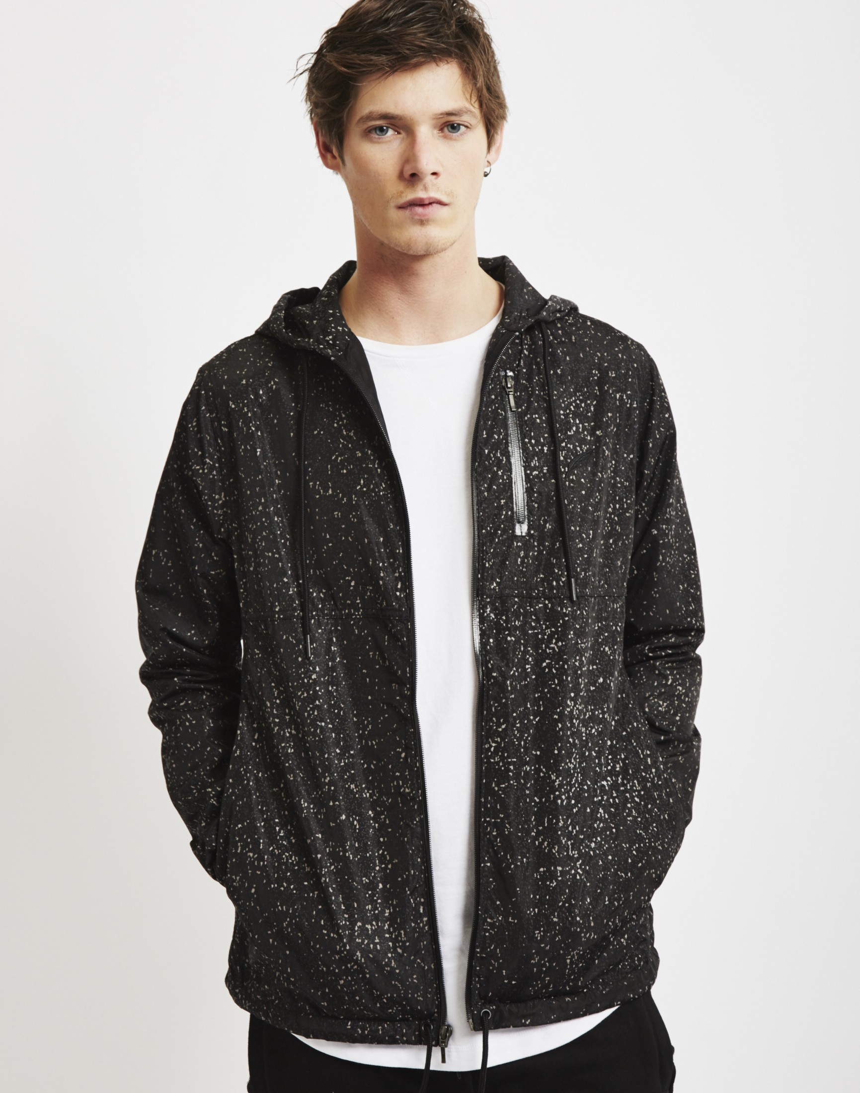 Publish Jupiter Jacket Black In Black For Men Lyst