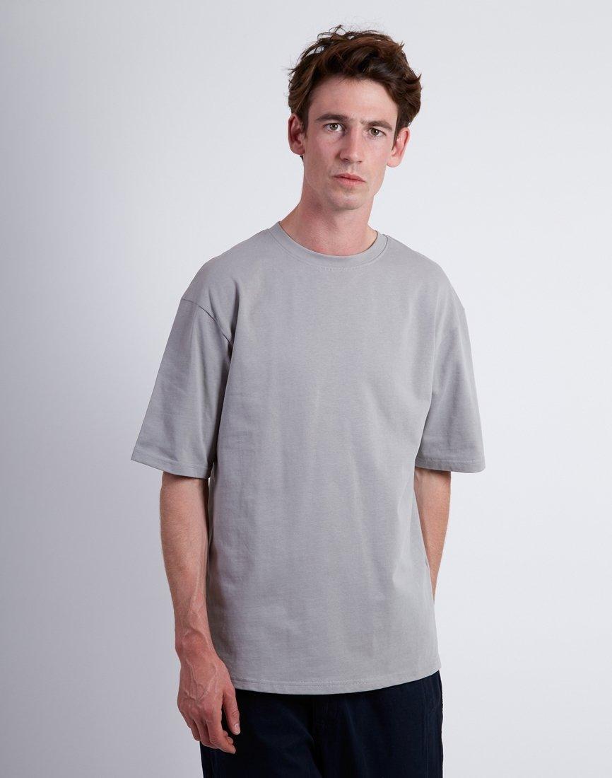 024c2236752e The Idle Man Heavyweight Boxy Short Sleeve Tshirt Grey in Gray for ...