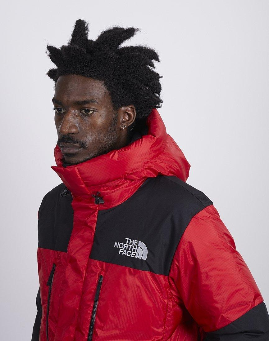 34eedcb0a5 The North Face - Himalayan Windstopper Down Jacket Red   Black for Men -  Lyst. View fullscreen