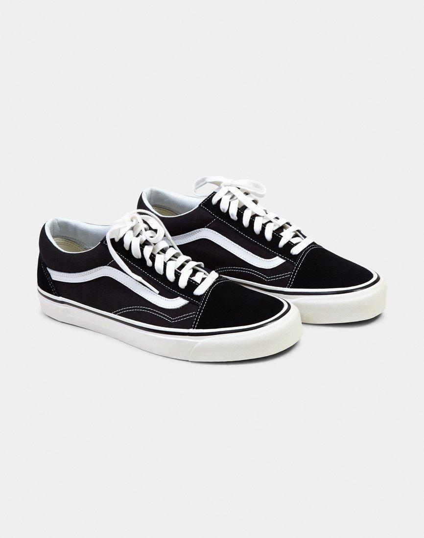 0a1996ada8 Vans Old Skool 36 Dx Plimsolls Black in Black for Men - Lyst