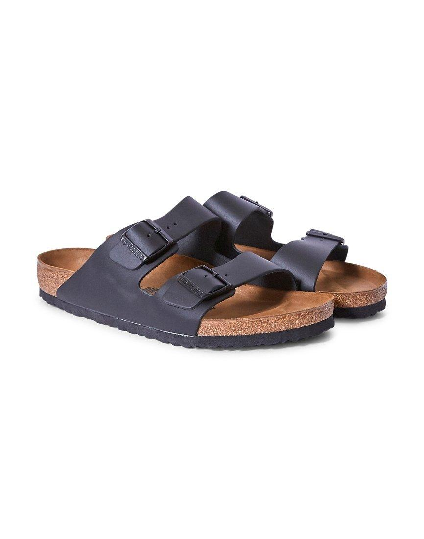 0d3900e7131 Lyst - Birkenstock Classic Arizona Sandal Black Leather in Black for Men
