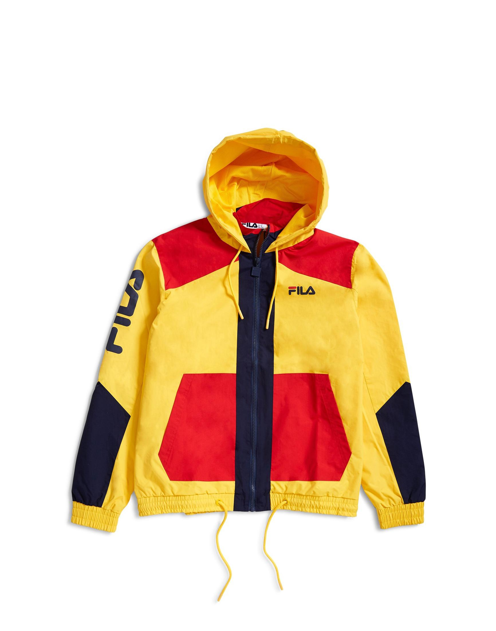 8f502c04a4e Fila Black Line Earl Colour Block Jacket Yellow in Yellow for Men - Lyst