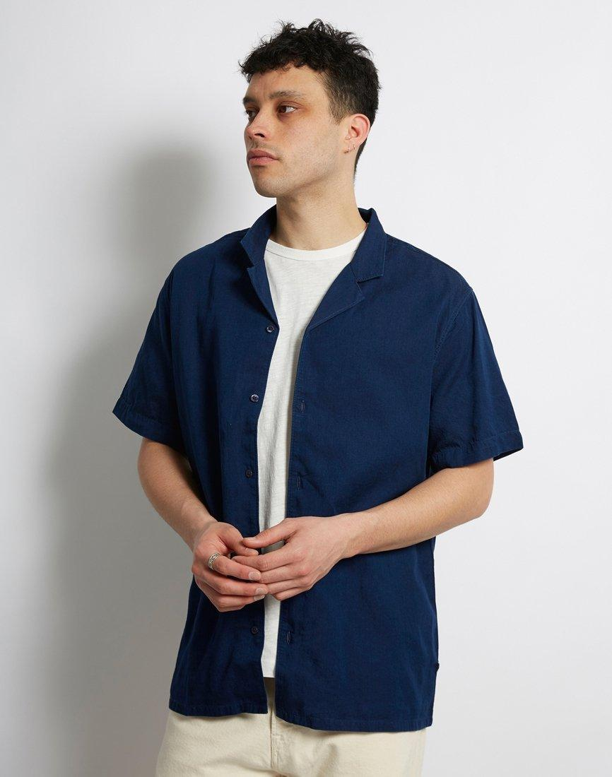 20e3b467fa03 Lyst - Levi's Cubano Shirt Navy in Blue for Men - Save 14%