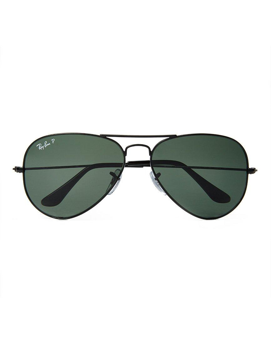2c5dd32001c Ray-Ban Rayban Polarised Aviator Sunglasses Large Rb3025 002 58 for Men -  Lyst